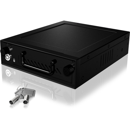 "Rack HDD RaidSonic Icy Box Mobile pentru 3.5"" si 2.5""  HDD/SSD Black"