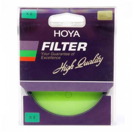 Filtru Hoya HMC Yellow-Green X0 72mm