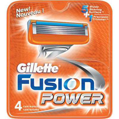 Rezerva aparat de ras Fusion Power 4 buc thumbnail