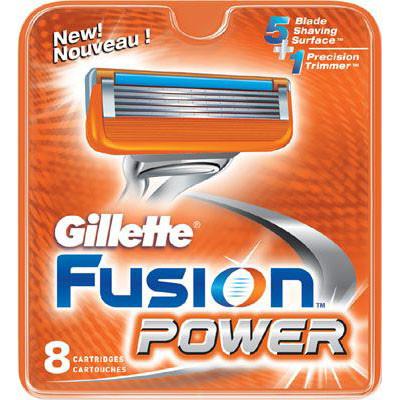 Rezerva aparat de ras Fusion Power 8 buc thumbnail