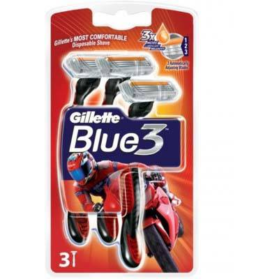 Aparat de ras Gillette Blue3 Pride punga 3 buc
