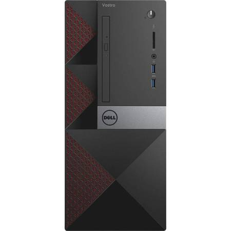 Sistem desktop Dell Vostro 3650 MT Intel Core i3-6100 4GB DDR3 500GB HDD Windows 10 Pro