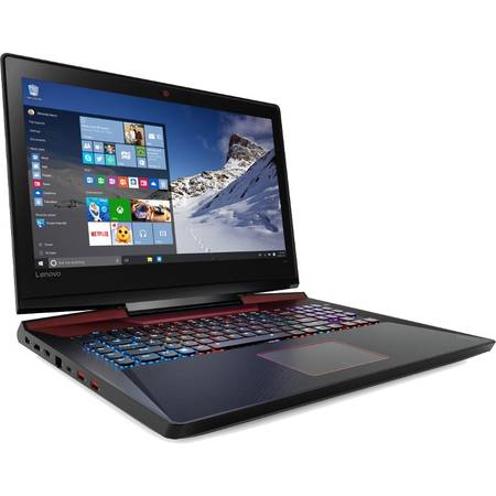 Laptop Lenovo IdeaPad Y910-17ISK 17.3 inch Full HD Intel Core i7-6700HQ 16GB DDR4 1TB HDD nVidia GeForce GTX 1070 8GB Windows 10 Black