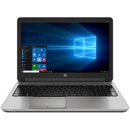 Laptop HP ProBook 650 G2 15.6 inch HD Intel Core i5-6200U 4GB DDR4 500GB HDD FPR Windows 10 Pro