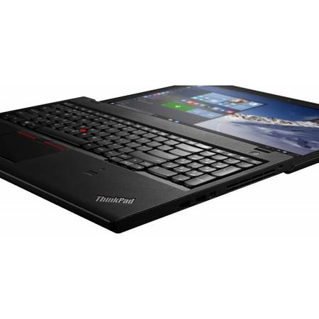 Laptop Lenovo ThinkPad T560 15.6 inch Full HD Touch Intel Core i7-6600U 16GB DDR3 512GB SSD FPR 4G Windows 10 Pro Black