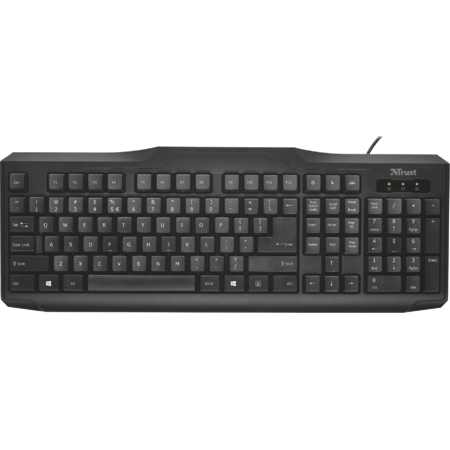 Tastatura Trust Us Classicline Keyboard Black