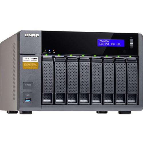 NAS TS-853A-8G Intel Celeron N3060 1.60GHz 8 Bay 4 x USB 4 x LAN thumbnail