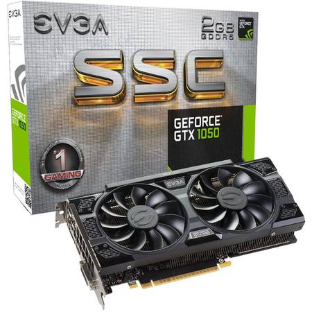 Placa video EVGA nVidia GeForce GTX 1050 SSC GAMING ACX 3.0 2GB DDR5 128bit
