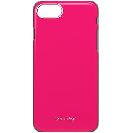 Husa Protectie Spate Happy Plugs 9127 Slim Roz Cerise pentru Apple iPhone 7