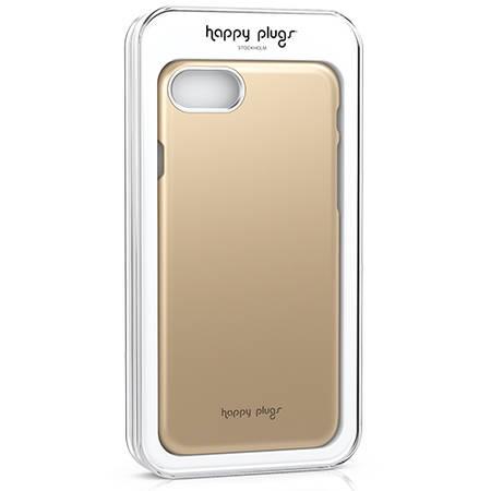 Husa Protectie Spate Happy Plugs 9132 Deluxe Champagne Auriu pentru Apple iPhone 7