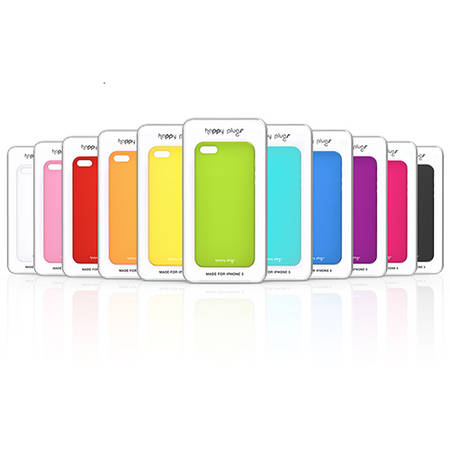 Husa Protectie Spate Happy Plugs 9134 Deluxe Roz pentru Apple iPhone 7