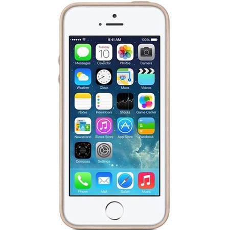Husa Protectie Spate MF042FE/A Piele Bej pentru APPLE iPhone 5s, iPhone SE