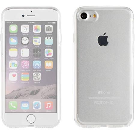 Husa Protectie Spate Muvit MUCFP0001 Crystal 3D 360 Transparent pentru Apple iPhone 7