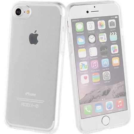 Husa Protectie Spate Muvit MUCFP0002 Crystal 3D 360 Transparent pentru Apple iPhone 7 Plus