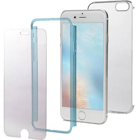 Husa Protectie Spate Celly BODY800LB 360 Policarbonat Albastru pentru Apple iPhone 7