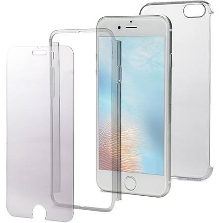Husa Protectie Spate Celly BODY800 360 Policarbonat Transparent pentru Apple iPhone 7