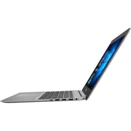 Laptop Asus ZenBook UX510UX-CN172R 15.6 inch Ful HD Intel Core i5-7200U 12GB DDR4 1TB HDD 128GB SSD nVidia GeForce GTX 950M 2GB Windows 10 Pro Grey Metal