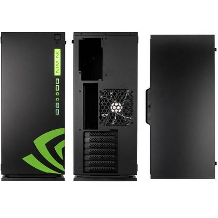 Carcasa In Win 303 Nvidia Edition MiddleTower Fara sursa Black