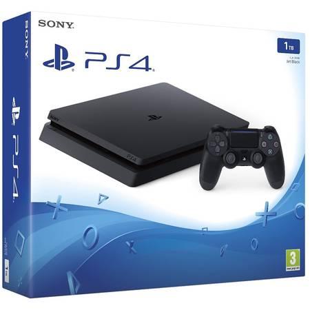 Consola Sony Playstation 4 Slim 1TB + Extra Controller Wireless Dualshock 4 V2