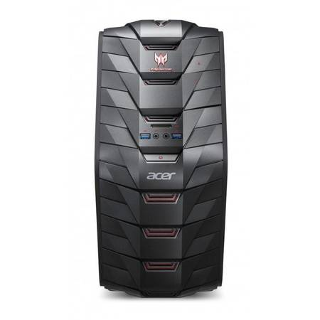 Sistem desktop Acer Aspire Predator G3-710 Intel Core i7-6700 16GB DDR4 2TB HDD 256GB SSD nVidia GeForce GTX 1070 Black