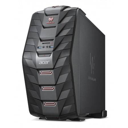 Sistem desktop Acer Aspire Predator G3-710 Intel Core i5-6400 8GB DDR4 2TB HDD 256GB SSD nVidia GeForce GTX 1060 3GB Black