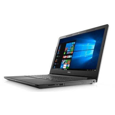 Laptop Dell 15.6 inch Intel Core i3 7100U 2.4Ghz 4GB DDR4 128SSD Linux Black