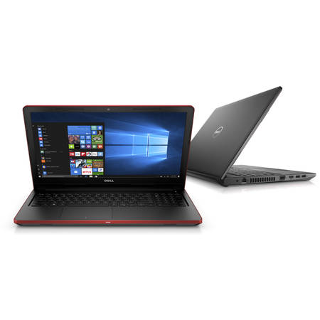 Laptop Dell 15.6 inch Intel Core i5 i5-7200U 2.5Ghz 4GB DDR4 HDD 1TB Linux Black