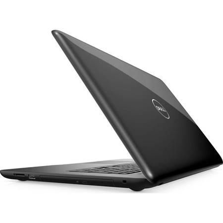 Laptop Dell Inspiron 5767 17.3inch FHD Core i7-7500U 2.7GHz 8GB DDR4 1TB HDD  Linux Negru