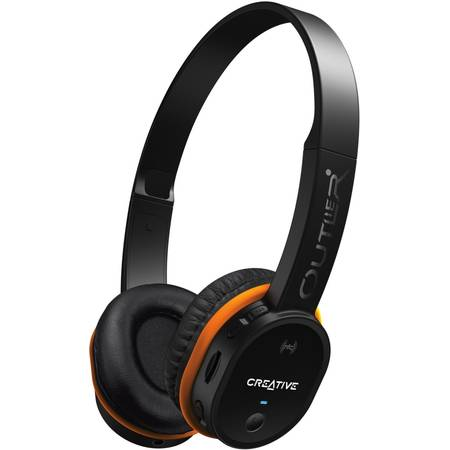 Casca Creative 51EF0690AA006 Outlier MP3 Bluetooth Black