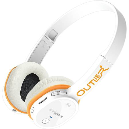 Casca Creative 51EF0690AA004 Outlier MP3 Bluetooth White