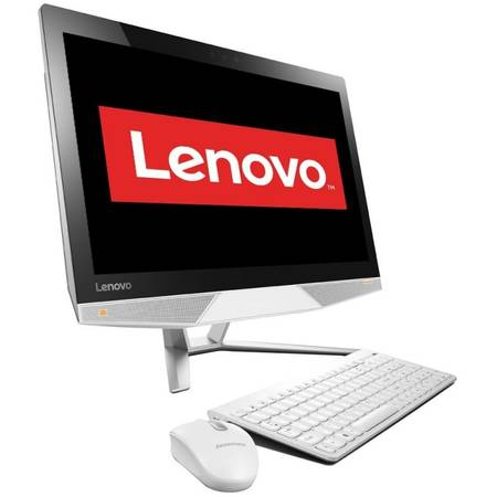 Sistem All in One Lenovo IdeaCentre 710-22ISH 21.5 inch Full HD Intel Core i3-6100T 8GB DDR4 1TB HDD nVidia GeForce GT 930A 2GB White