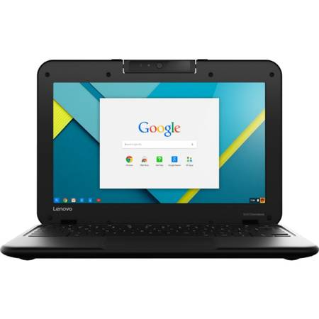 Laptop Lenovo N22-20 Chromebook 11.6 inch HD Intel Celeron N3050 2GB DDR3 32GB eMMC Chrome OS Black