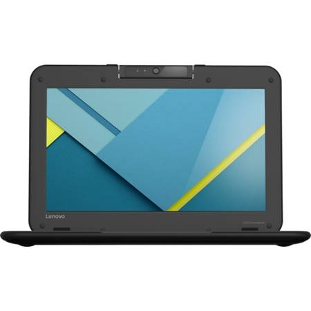 Laptop Lenovo N22-20 Chromebook 11.6 inch HD Intel Celeron N3050 2 GB DDR3 32 GB eMMC Chrome OS Black