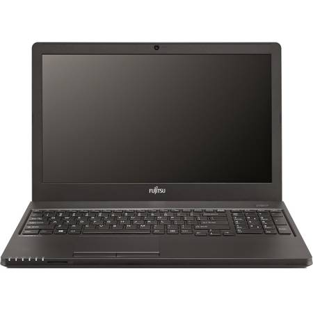 Laptop Fujitsu Lifebook A555 15.6 inch HD Intel Core i3-5005U Broadwell 2GHz 4GB DDR3 500GB HDD Black Free Dos