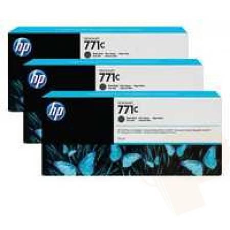 Consumabil HP B6Y31A INK 771C 3/PK 775-ML MAT BLACK