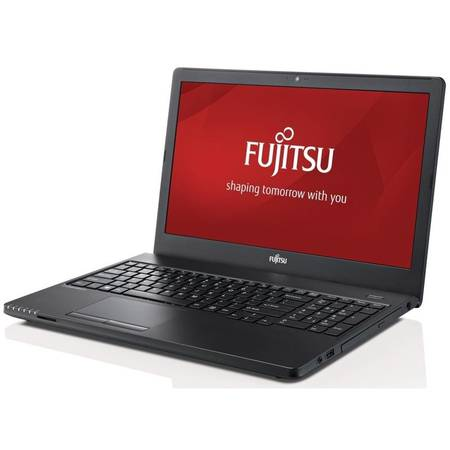 Laptop Fujitsu Lifebook E556 15.6 inch HD Intel i5-6200U Skylake 2.3GHz 8 GB DDR4 256GB SSD Black Windows 10 Pro 64-bit