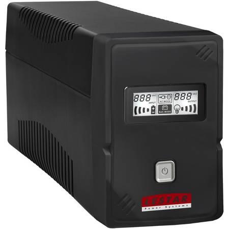 UPS LESTAR V-1000f 1000VA / 600W  IEC Schuko FR LCD