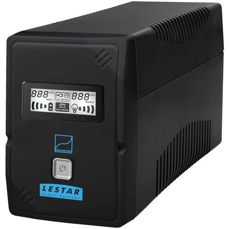 UPS LESTAR SIN-830E 800VA / 480W  Sinus LCD IEC