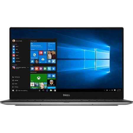 Laptop Dell XPS 13 9360 13.3 inch Quad HD+ Touch Intel Core i7-7500U 16GB DDR3 512GB SSD Windows 10 Pro Silver