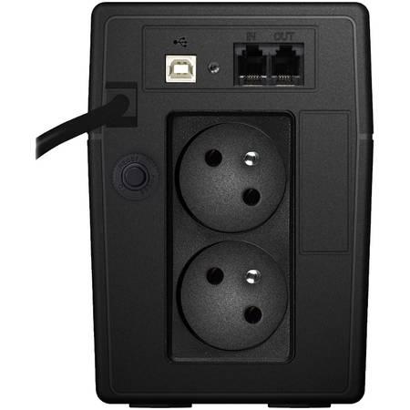 UPS LESTAR MCL-655ffu 600VA / 360W AVR Schuko FR LCD