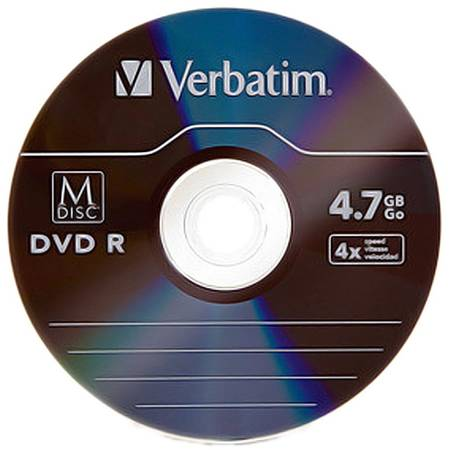 Mediu optic Verbatim M-DISC DVD R  4.7GB