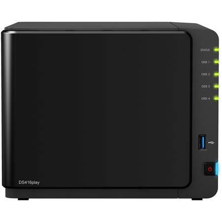 NAS Synology DS416play Intel Celeron N3060 1.6 GHz 1 GB 4 Bay 3 x USB