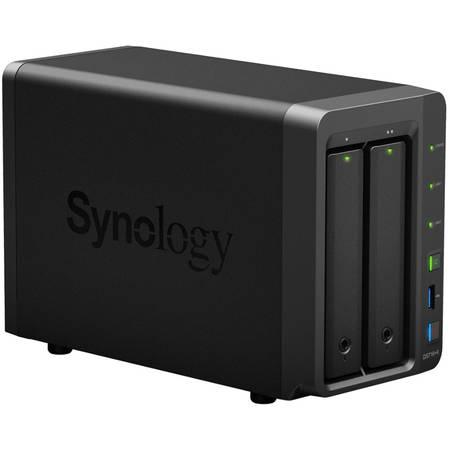 Network attached storage Synology DS716+II Intel Celeron N3160 1.6 GHz 2 GB 2 Bay 3 x USB