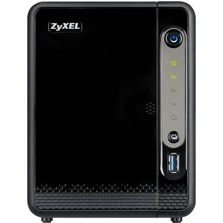 NAS ZyXEL NSA326 Marvell ARMADA 380 1.3 GHz 2 Bay 3 x USB 1 x LAN