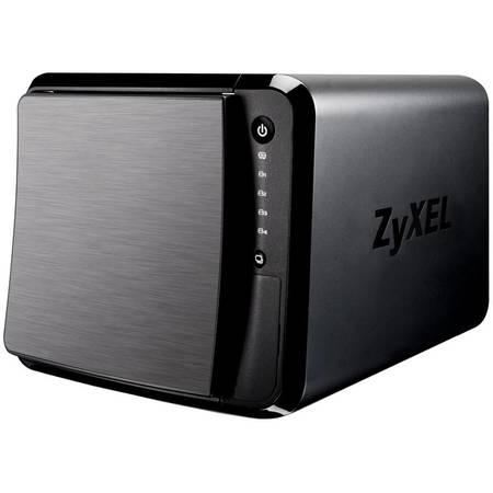 NAS ZyXEL NSA542 Dual Core 1.2 GHz 4 Bay 3 x USB 2 x LAN