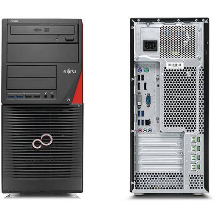 Sistem desktop Fujitsu Celsius W550 Intel Xeon E3-1220 v5 3.00 GHz 16 GB DDR4 2TB HDD Quadro K1200 4GB GDDR5 Windows 10 Pro