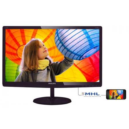 Monitor Philips E-line 277E6LDAD/00  Full HD 27 inch 1 ms Black