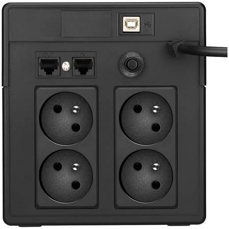 UPS LESTAR MCL-1200ffu 1200VA / 720W Schuko FR LCD