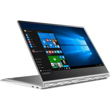 Laptop Lenovo Yoga 910-13IKB 13.9 inch Full HD Touch Intel Core i5-7200U 16GB DDR4 512GB SSD Windos 10 Silver