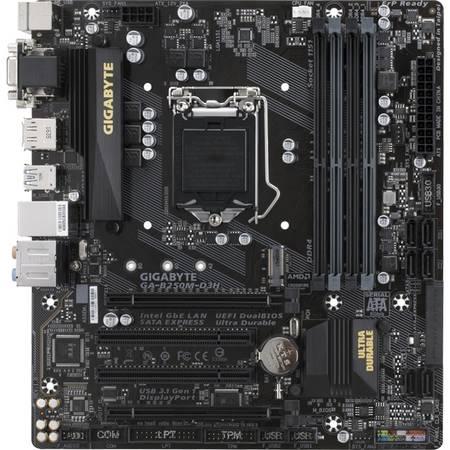 Placa de baza Gigabyte B250M-D3H Intel LGA1151 mATX